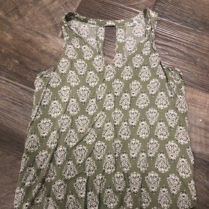 (3/$20) Old Navy patterned tank top